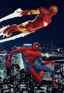 Marvel: Spider-Man and Iron Man by Dan Avenell