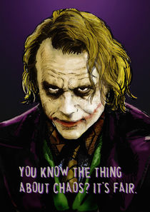 The Joker Says von Dan Avenell