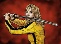 Tarantino: Kill Bill - The Bride by Dan Avenell