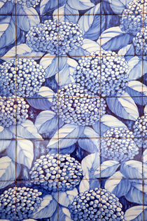 Floral tiles von Gaspar Avila
