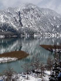 Bergsee im Winter von Karlheinz Milde