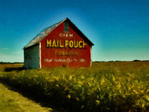 Mail Pouch Barn by David Dehner