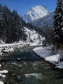 Winterliche Bachlandschaft von Karlheinz Milde