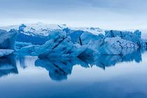 Gletscherlagune Jökulsárlón auf Island von Florian Westermann