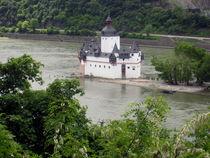 Pfalz bei Kaub by Karlheinz Milde