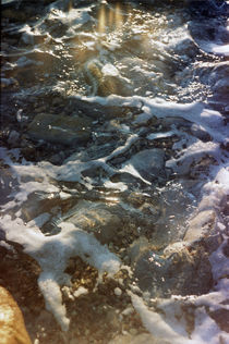Sea foam by Anton Kudriashov