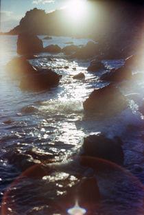 Rays in water by Anton Kudriashov