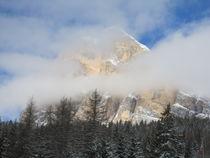 Berg im Nebel by Karlheinz Milde