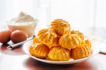 Some Puffs in a plate by maxal-tamor