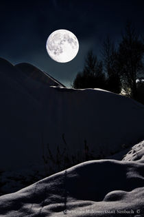 From current event - Snow Moon 2017 von Chris Berger