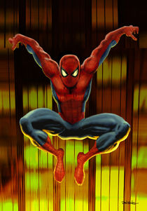 Spider-Man Drops By by Dan Avenell