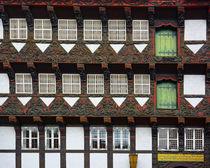 Die Fassade des Gildehauses in Braunschweig by gscheffbuch