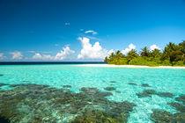Strandsehnsucht Malediven III von Sylvia Seibl