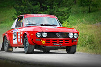 Vintage Lancia Fulvia racing car by maxal-tamor