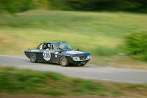 Black vintage Lancia Fulvia racing car by maxal-tamor