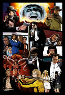 The Tarantinoverse von Dan Avenell