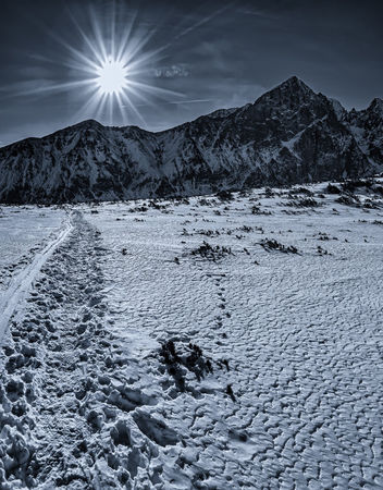 Sun-over-slovak-mountains