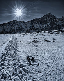 The Sun over Slovak Mountains by Tomas Gregor