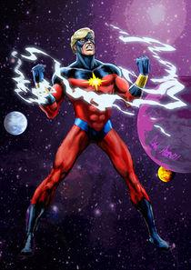 Captain Marvel von Dan Avenell