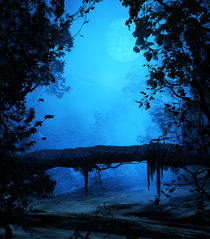 Bosque Azul by Minocom Art Gallery
