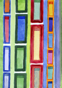 Narrow Frames in Vertical Rows Pattern von Heidi  Capitaine