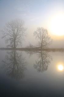 Nebel an der Ruhr by Bernhard Kaiser