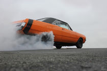 Dodge Dart burn out by fabair