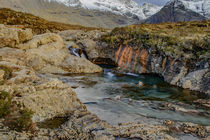 The Magical Fairy Pools, Isle of Skye by Bruce Parker