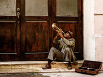 the trumpet player von Jens Schneider