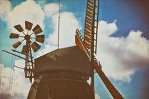 Amrumer Windmühle Vintage von AD DESIGN Photo + PhotoArt
