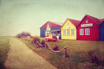 Bunte Häuser Vintage - Amrum by AD DESIGN Photo + PhotoArt