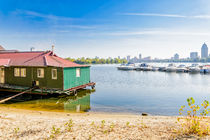 House and Boats on the River by maxal-tamor