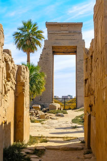 Karnak temple in Luxor, Egypt von maxal-tamor