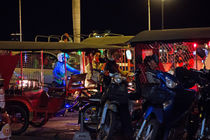 Silvester 2016, Riverside Phnom Penh von Hartmut Binder