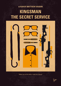 No758 My Kingsman minimal movie poster von chungkong