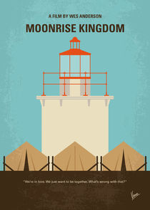 No760 My Moonrise Kingdom minimal movie poster von chungkong