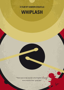 No761 My Whiplash minimal movie poster von chungkong