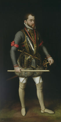 Philip II of Spain von Anthonis van Dashorst Mor