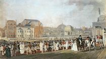 Brighton: The Old Pavilion and Steyne engraved by Charles Richards by English School