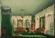 The Bedroom of Elizabeth of Bavaria von Franz Xavier Nachtmann