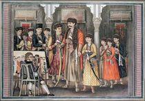 Shuja ud-daula, Nawab of Oudh and his Ten Sons by Tilly Kettle