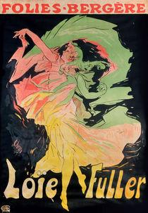 Folies Bergere: Loie Fuller von Jules Cheret