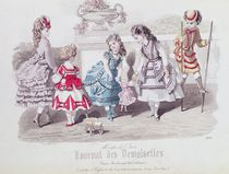 Fashions for Girls, from 'Journal des Demoiselles' by French School