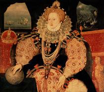 The Armada portrait of Queen Elizabeth I by English School