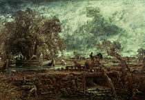Study for The Leaping Horse von John Constable