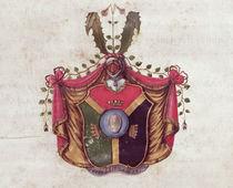 Coat of Arms of the Linnaeus family von Swedish School