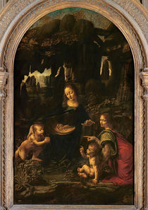 Madonna of the Rocks, c.1478 von Leonardo Da Vinci