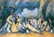 The Large Bathers, c.1900-05 von Paul Cezanne