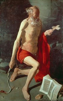 St. Jerome, c.1620 von Georges de la Tour