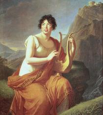 Madame de Stael as Corinne von Elisabeth Louise Vigee-Lebrun